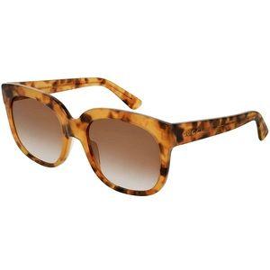 GUCCI Squared Tortoise Shell Sunglasses NWOT